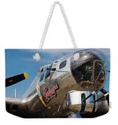 B-17 Flying Fortress Weekender Tote Bag by Adam Romanowicz