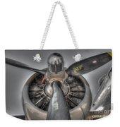 B-17g Bomber Prop Weekender Tote Bag