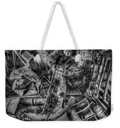 B-24 Bomber Belly Gunner - 1943 Weekender Tote Bag