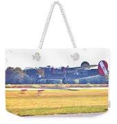 B-24 Landing Weekender Tote Bag