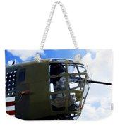 B-24 Nose Gun Weekender Tote Bag