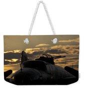 B-25 Sunset Weekender Tote Bag