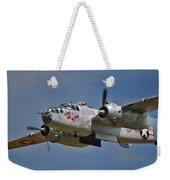 B-25 Take-off Time 3748 Weekender Tote Bag