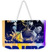 B. B. King Poster Art Weekender Tote Bag