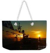 B C Ferries Sunsets Sc3417-13 Weekender Tote Bag
