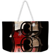 B For Bosox - Vintage Boston Poster Weekender Tote Bag