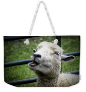 Baa Baa Black Sheep Weekender Tote Bag