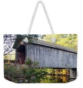 Babbs Covered Bridge In Maine Weekender Tote Bag
