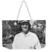 Babe Didrikson Portrait Weekender Tote Bag