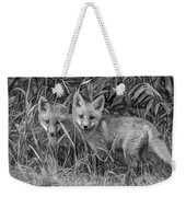 Babes In The Woods 2 - Paint Bw Weekender Tote Bag