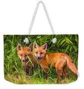Babes In The Woods 2 - Paint Weekender Tote Bag