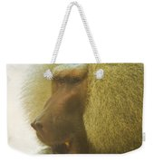Baboon In The Sun Weekender Tote Bag