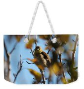 Baby American Goldfinch Learning To Fly Weekender Tote Bag