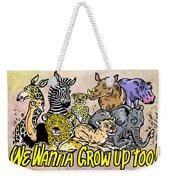 Baby Animals Weekender Tote Bag