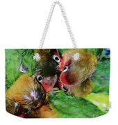 Baby Bird Nest In Hong Kong Bird Market Weekender Tote Bag