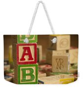 Baby Blocks Weekender Tote Bag