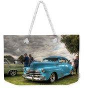 Baby Blue Fleetline Weekender Tote Bag