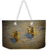 Baby Ducks Weekender Tote Bag
