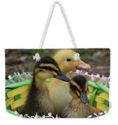 Baby Ducks Weekender Tote Bag