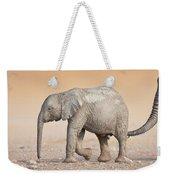 Baby Elephant  Weekender Tote Bag by Johan Swanepoel
