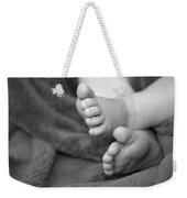 Baby Feet Weekender Tote Bag