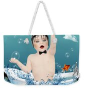 Baby Fun Time Weekender Tote Bag
