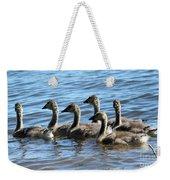 Baby Geese Weekender Tote Bag