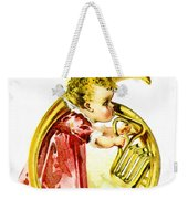Baby Girl With A French Horn Weekender Tote Bag