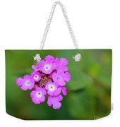 Flower - Baby In Pink Weekender Tote Bag