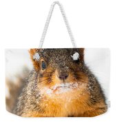 Baby It's Cold Outside Weekender Tote Bag by Optical Playground By MP Ray
