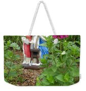 Baby Jesus In Garden Weekender Tote Bag