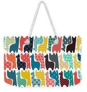 Baby Llamas Weekender Tote Bag