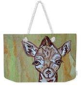 Baby Longneck Giraffe Weekender Tote Bag
