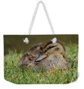 Baby Mallard Weekender Tote Bag