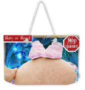 Baby On Board Weekender Tote Bag
