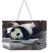 Baby Panda Weekender Tote Bag