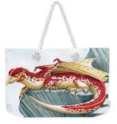 Baby Scarlet Spotted Dragon Weekender Tote Bag