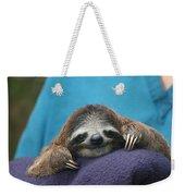 Baby Sloth Weekender Tote Bag