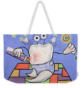 Baby Tooth Weekender Tote Bag by Anthony Falbo