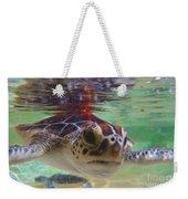 Baby Turtle Weekender Tote Bag