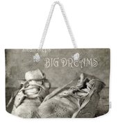 Baby's First Shoes Weekender Tote Bag