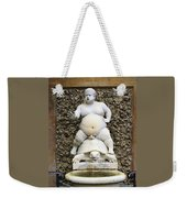 Bacchus Fountain Weekender Tote Bag