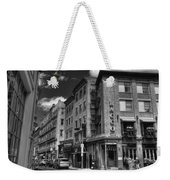 Bacco In Black And White Weekender Tote Bag