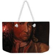 Bach Portrait After Heavy Varnish Weekender Tote Bag