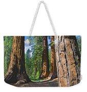 Bachelor And Three Graces In Mariposa Grove In Yosemite National Park-california Weekender Tote Bag