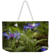 Bachelor Buttons - Flowers Weekender Tote Bag