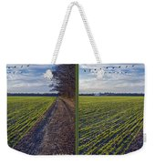 Back Forty - Gently Cross Your Eyes And Focus On The Middle Image Weekender Tote Bag