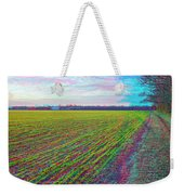 Back Forty - Use Red/cyan Filtered 3d Glasses Weekender Tote Bag