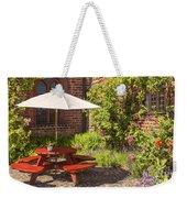 Back Garden  Weekender Tote Bag