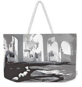 Back North Entrance #1 Of San Xavier Mission Tucson Arizona 1979-2013  Weekender Tote Bag